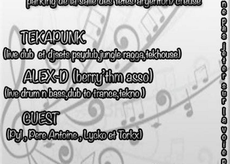 Tekapunk - Alex-d - Torkx (Fête de la Musique 2018) à Argenton sur Creuse