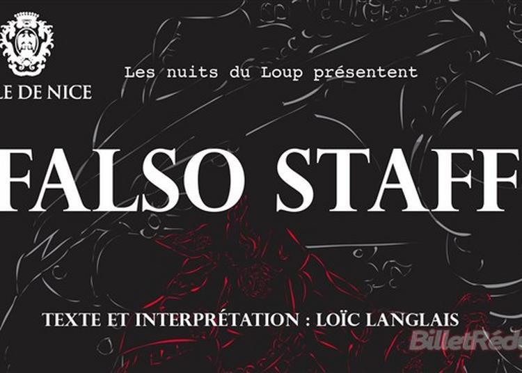 Falso Staff à Nice