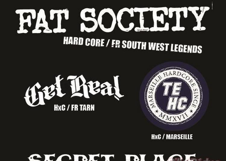 Fat Society + Get Real + Tight End + Dj Momo Disagree à Saint Jean de Vedas