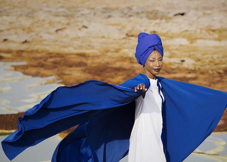 Fatoumata Diawara à Paris 18ème