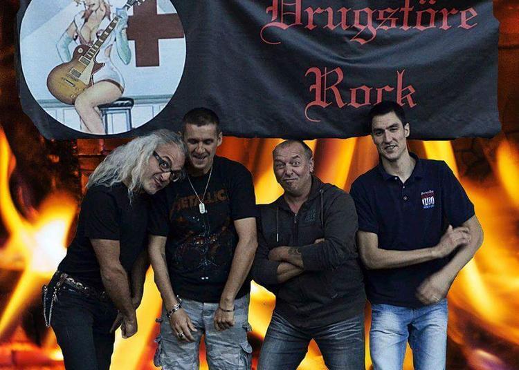 Drugstöre Rock (Fête de la musique 2018) à Cluny