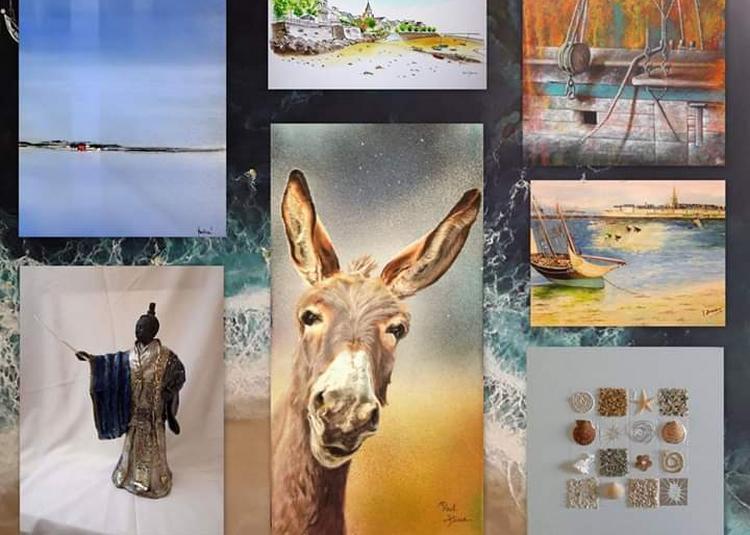 Exposition-vente - Le Groupe des peintres malouins - artistes et artisans locaux à Saint Malo