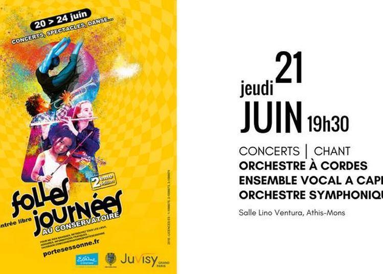 Folles journée au conservatoire (Fête de la Musique 2018) à Sable sur Sarthe