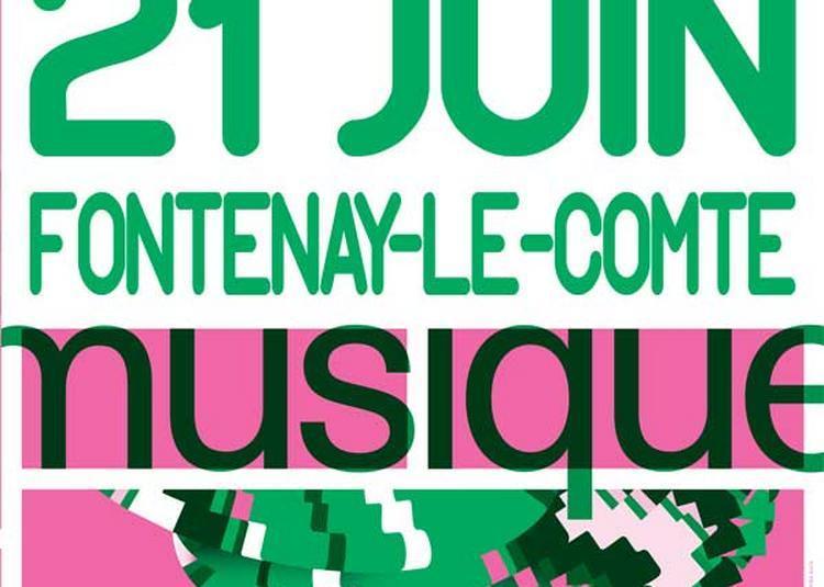 Hommage aux papas (Fête de la Musique 2018) à Fontenay le Comte