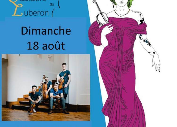 Festival de Quatuors du Luberon; Promenade Musicale à L'abbaye à La Roque d'Antheron