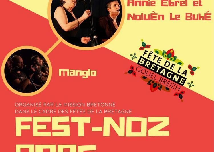 Fest-noz bras à Paris 14ème
