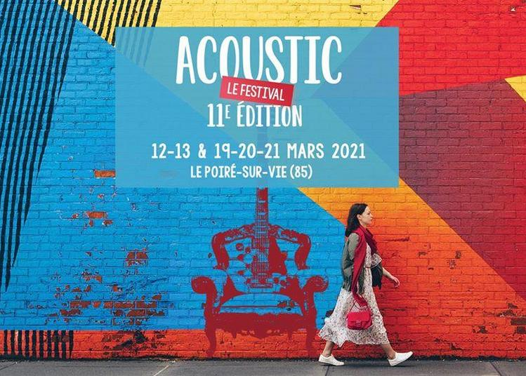 Festival Acoustic - Laurent Voulzy - report à Aizenay