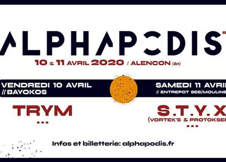Festival Alphapodis 3 - Samedi à Alencon