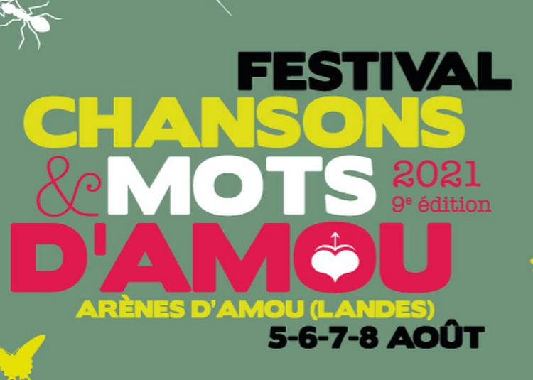 Festival Chansons & Mots d'Amou 2021