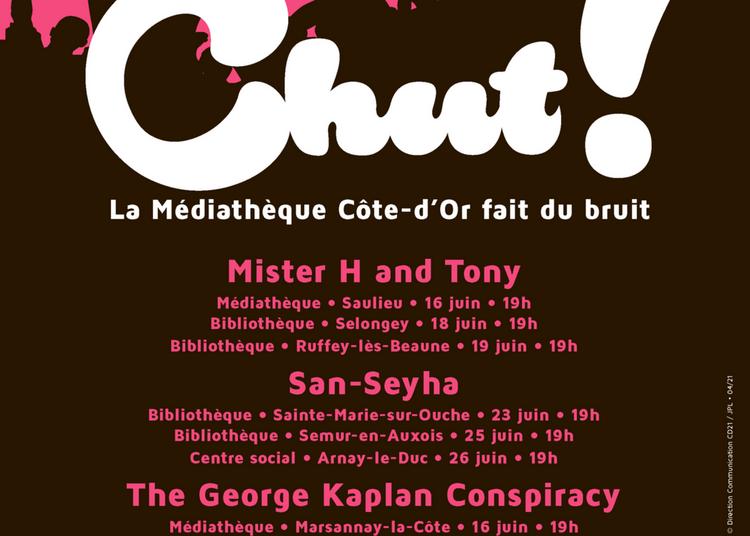 Festival Chut ! - Mister H and Tony en concert gratuit à Ruffey les Beaune