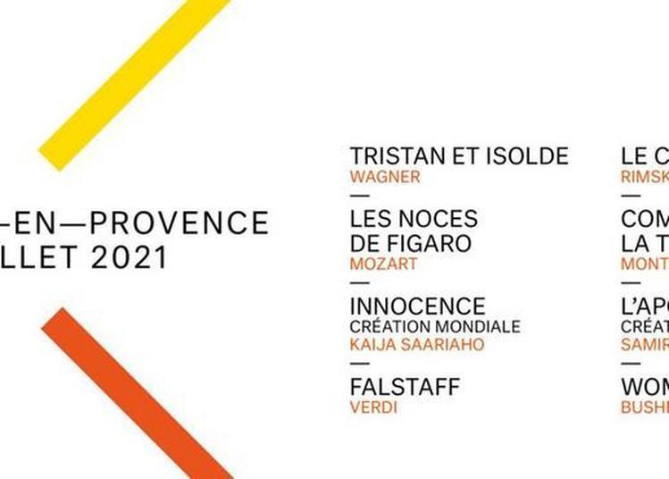 Festival d'Aix en Provence 2021