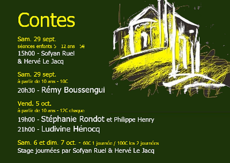 Festival de contes à Salinelles 2018