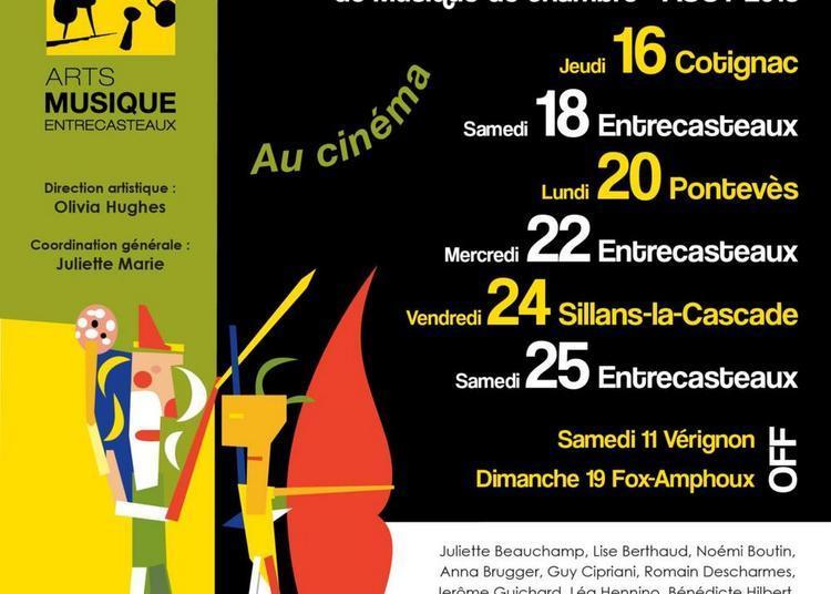 Festival de musique de chambre d'Entrecasteaux 2018