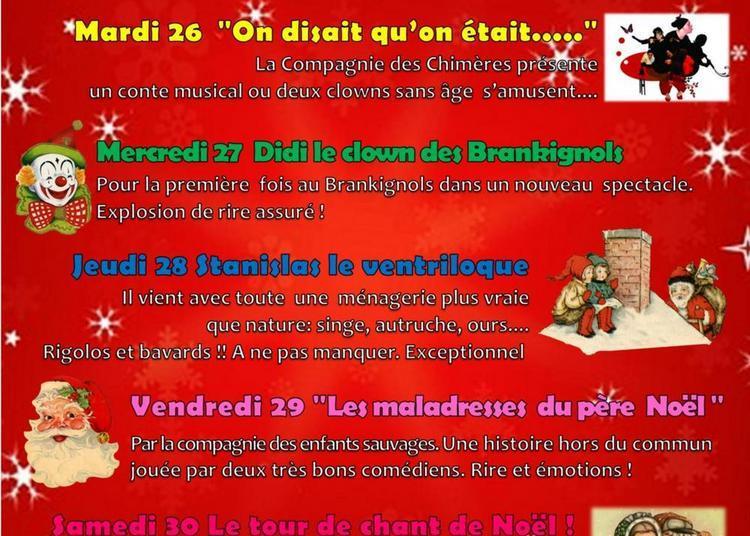 Festival  de Noël  pour les  enfants au brankignols 2017