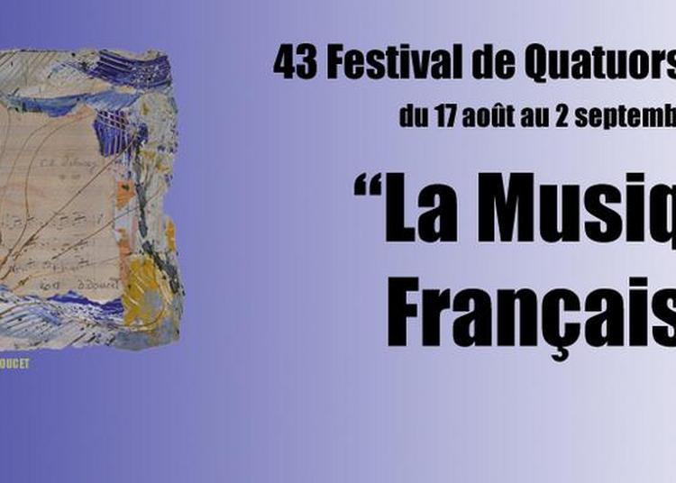 Festival de Quatuors du Luberon 2018