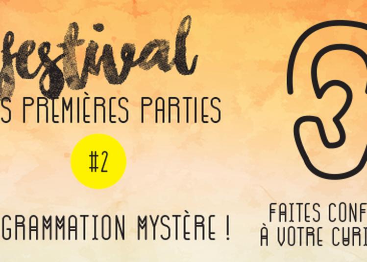Festival des premières parties 2017