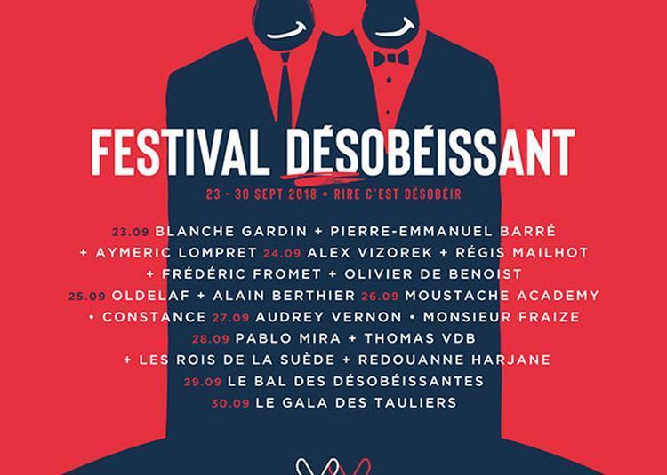 Festival Desobeissant - Thomas Vdb à Paris 18ème