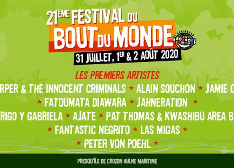 Festival Du Bout Du Monde Pass 3 Jours à Crozon