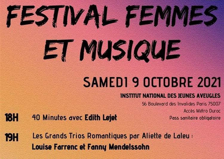 Festival Femmes Et Musique à Paris 7ème