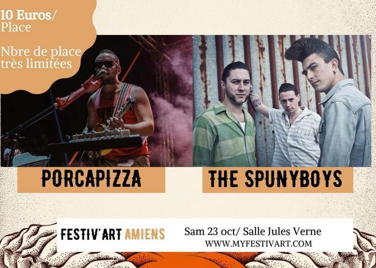 The Spunyboys / Porcapizza à Amiens