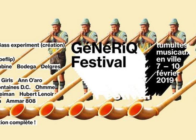Festival Génériq à Besançon 2019