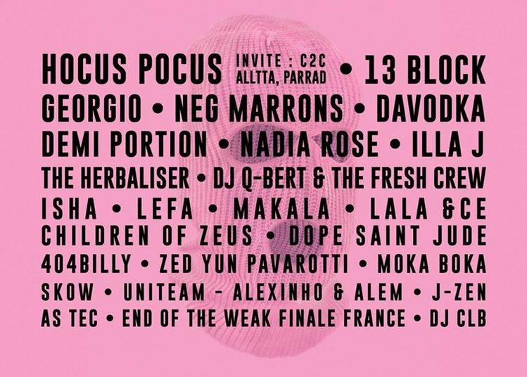 Festival Hip Opsession Reboot 2019