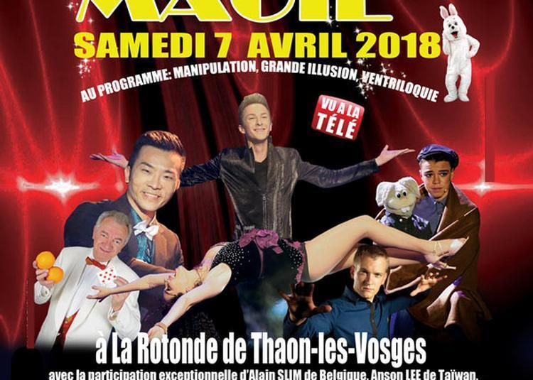 Festival International Magie Vosges à Thaon les Vosges