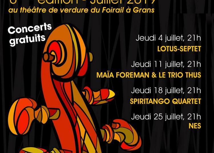 Festival Jazz à Grans - 6ième Edition 2019
