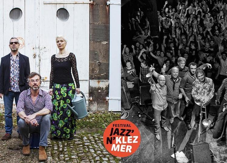 Festival Jazz'n'klezmer : Lembe Lokk Secret Chords + Amsterdam Klezmer Band à Paris 20ème