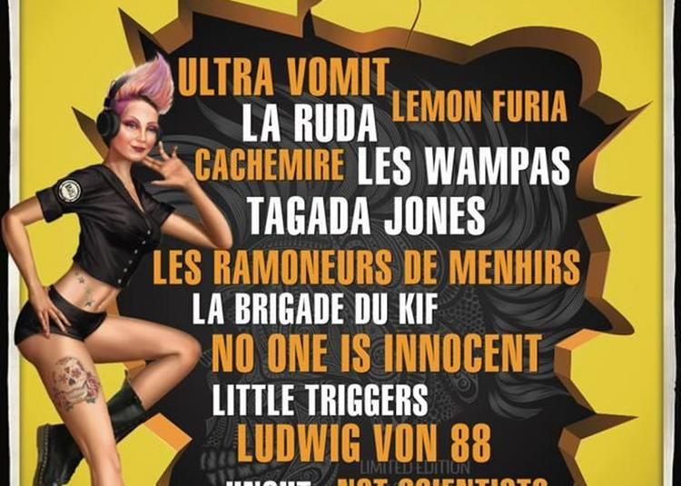 Festival La Voix Du Rock - Samedi à Couhe
