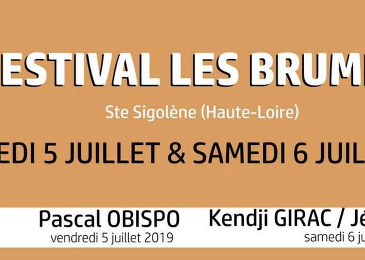 Pascal Obispo à Sainte Sigolene