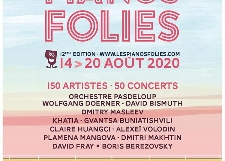Festival Les Pianos Folies du Touquet-Paris-Plage 2020