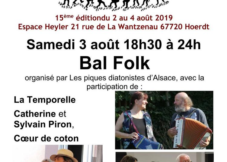 Festival Music in - Music'Aout - Bal Folk 2019
