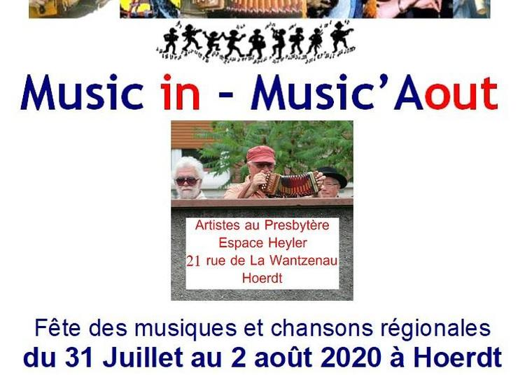Festival Music in - Music'Aout - Bal Folk 2020