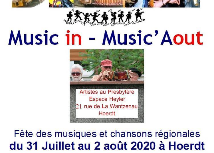 Festival Music in - Music'Aout - Culte déconcertant et concert de clôture 2020