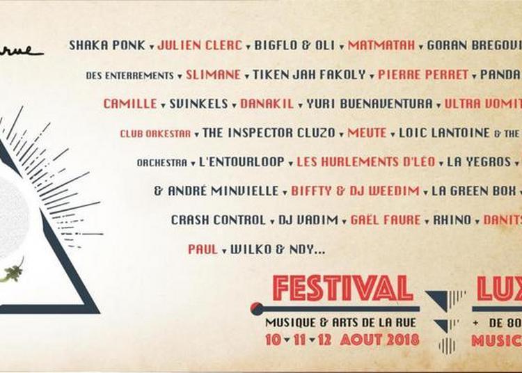 Festival Musicalarue 2018
