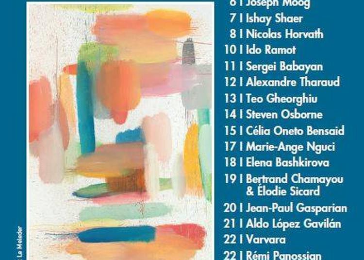 Festival Piano aux Jacobins 2018