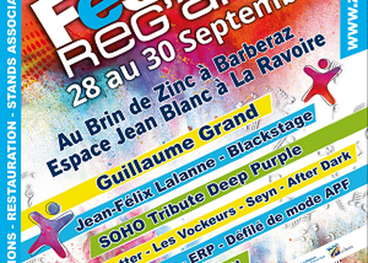 Festival Reg'arts7 à La Ravoire