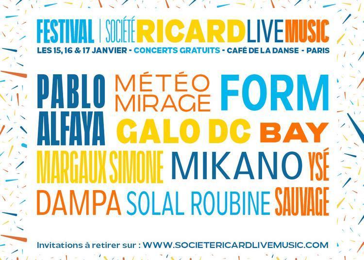 Festival Ricard Live Music à Paris 11ème