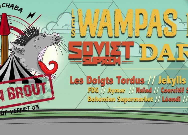 Festival Roc'N Brout à Brout Vernet