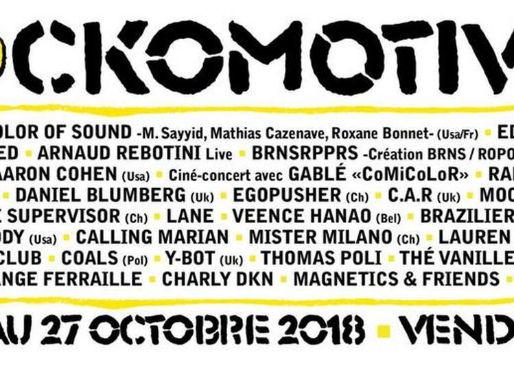 Festival Rockomotives - 1 Jour à Vendome