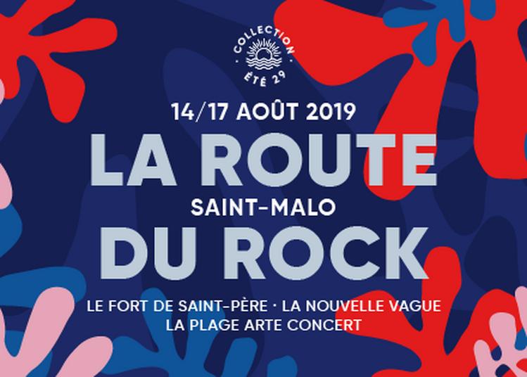 Festival Route Du Rock Vendredi à Saint Pere Marc en Poulet