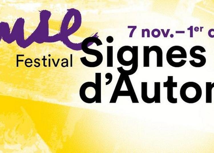Festival Signes d'Automne 2017