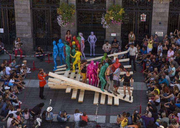 Festival Soñj - Art Urbain - Propositions Plastiques - Damoclès 2022