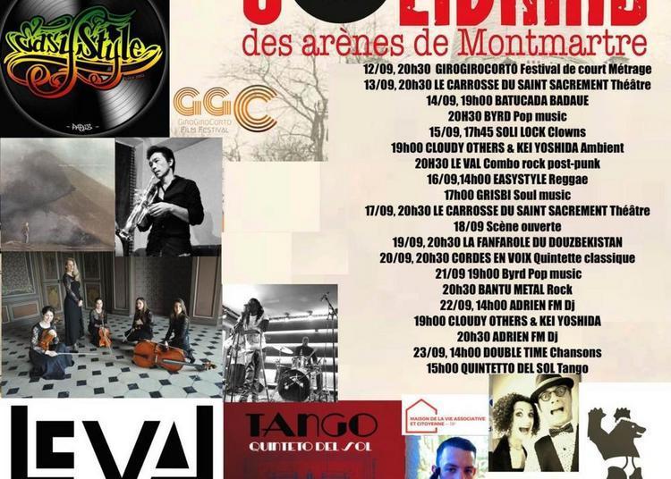 Festival solidaire des arènes de Montmartre 2018