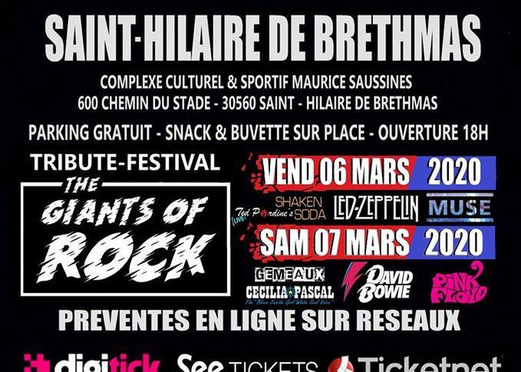 Festival The Giants Of Rock Pass 1 Jour à Saint Hilaire de Brethmas