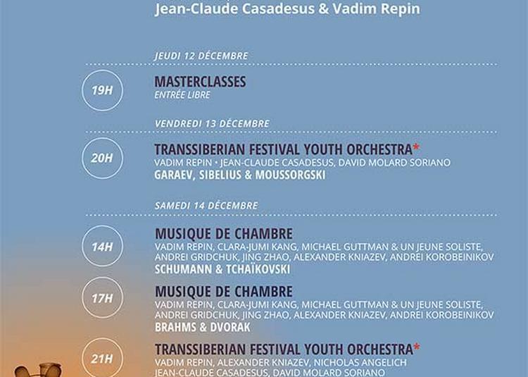 Festival Transsiberien à Lille