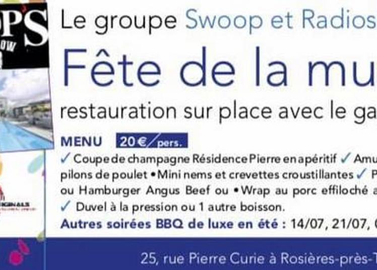 Fête de la musique - Champagne résidence Pierre à Rosieres Pres Troyes