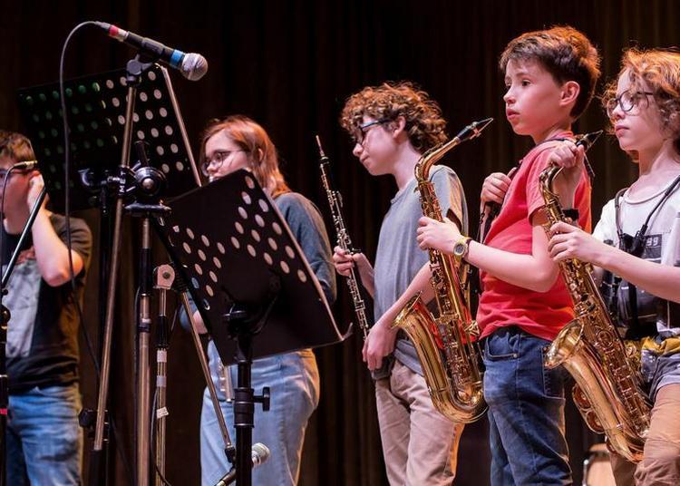 Fête de la musique de l'école des musiques de Lillebonne à Nancy