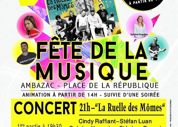 Fête de la musique - Place de la république à Ambazac